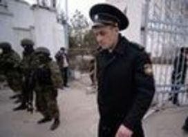 Russia takes over Ukraine's military bases, officers