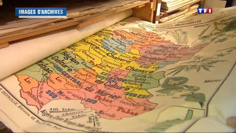 Deyrolles, fabricant historique des cartes d'histoire-géographie, passe à l'ère du ... - TF1 | DIDACTIQUE DE L'HISTOIRE & GEOGRAPHIE | Scoop.it