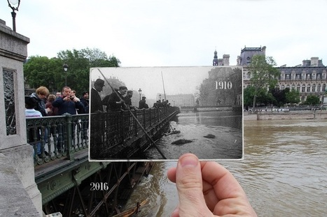 Photo Series Compares Modern-Day Flooding in Paris to Great Flood of 1910 | What's new in Visual Communication? | Scoop.it