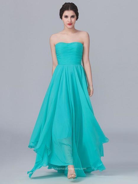 Aqua Bridesmaid Dresses - BridesmaidDesigners | Discount Bridesmaid Dresses | Scoop.it