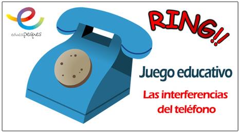 Actividades educativas para niños: Las interferencias del teléfono | Educapeques Networks. Portal de educación | Scoop.it