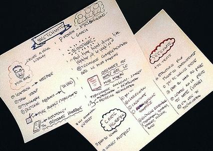 Heuristiquement: Sketchnote ou Croquinote: une technique à découvrir | Mind Mapping (et autres techniques similaires) | Scoop.it