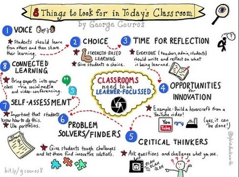 8 Things to Look For in Today's Classroom  - @georgecouros | Horn APHuG | Scoop.it