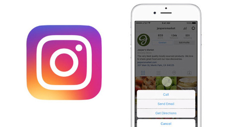 Instagram : les comptes d'entreprise arrivent ! | Internet world | Scoop.it