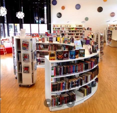 Récit visuel de la bibliothèque publique de Klostergården à Lund #design_suédois | Bibliothèques en évolution | Scoop.it