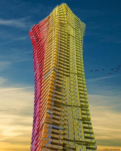 Des gratte-ciel en containers pour désengorger les bidonvilles de Mumbai   Dans l'actu   Doc' ESTP   Scoop.it