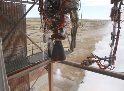 Blue Origin shows off its engine | NewSpace Journal | The NewSpace Daily | Scoop.it
