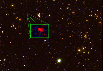 Farthest confirmed galaxy is a prolific star creator | Amazing Science | Scoop.it