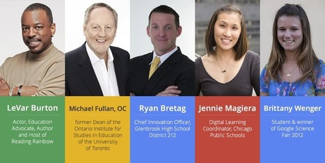 Speakers and sessions for Education on Air ~ Google for Education | Into the Driver's Seat | Scoop.it