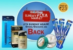 ShopClues Sunday Flea Market Today 8 September, 2013 | Crazdeal | Best Shopping Deals By Crazdeal | Scoop.it