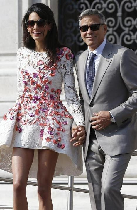 Clooney Says Goodbye to the Single Life | ESL News | clubEFL - English on the Net | Scoop.it