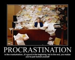 Procrastinating procrastination!! | Always wondering…. | Be Productive | Scoop.it