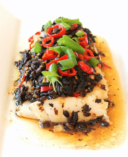 #HEALTHYRECIPE - Steamed Cod with Black Beans and Chilli | blogging for success | Scoop.it