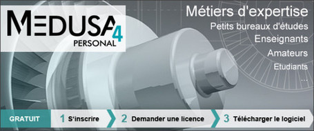 Logiciel professionnel gratuit MEDUSA4 CAO 2D/3D (Windows,Linux) | formation 2.0 | Scoop.it
