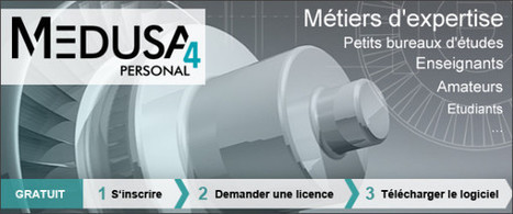 Logiciel professionnel gratuit MEDUSA4 CAO 2D/3D (Windows,Linux) | Time to Learn | Scoop.it