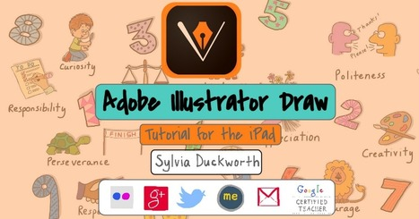 Adobe Illustrator Draw tutorial | Library & Tech Feed | Scoop.it