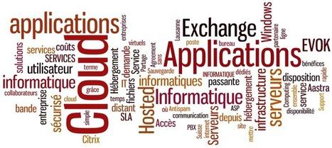 Nuage de tags pour les Cloud Applications,... | SwissCloud, blog du nuage suisse | Cloud Services & Cloud Computing | Scoop.it