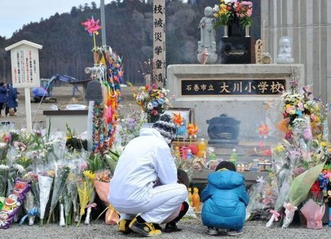 Japon: minute de silence pour les victimes du tsunami du 11 mars 2011 | Japon : séisme, tsunami & conséquences | Scoop.it