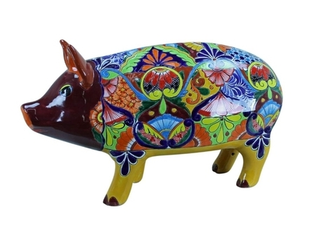 Extra Large Talavera Pig | Home Decor | Scoop.it