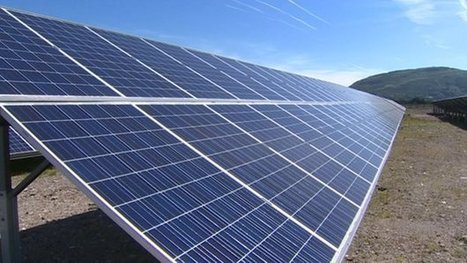 Large scale solar parks in Wales set 'to double'   Welsh Community Renewable Energy   Scoop.it