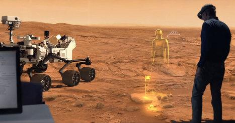 ¿Te imaginas caminar por Marte? Con la realidad aumentada, puedes | Diario TIC | Scoop.it