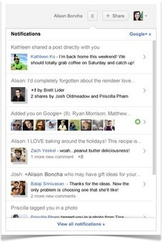 "Official Google Blog: Google+: A few big improvements before the New Year | ""#Google+, +1, Facebook, Twitter, Scoop, Foursquare, Empire Avenue, Klout and more"" 