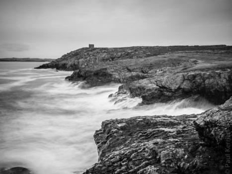 Bretagne - Finistère :  coup de vent à la pointe de Talargrip (3 photos)   photo en Bretagne - Finistère   Scoop.it