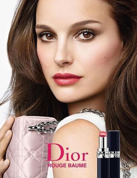 Natalie Portman encandila de nuevo junto a Dior: Rouge Dior Baume | Beauty Trends | Scoop.it