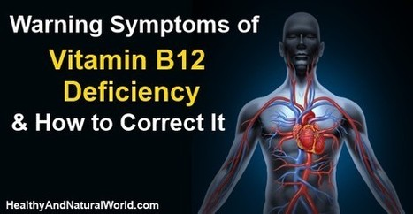 Warning Symptoms of Vitamin B12 Deficiency and How to Correct It | Holistic Nutrition Health and Wellness | Scoop.it