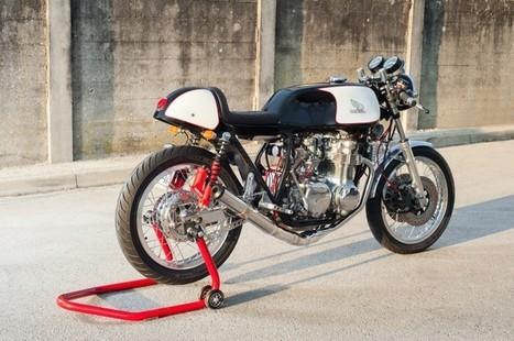Honda CB550 Cafe Racer | custom cafe racer | Scoop.it