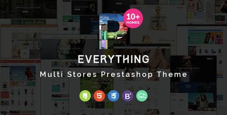 Everything - Multipurpose Responsive Prestashop Theme   Prestashop modules   Scoop.it