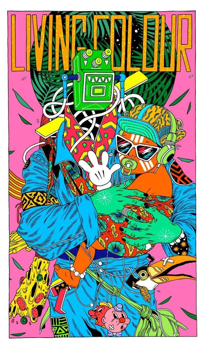 The explosive illustrations by Brazilian collective Bicicleta Sem Freio | Machinimania | Scoop.it