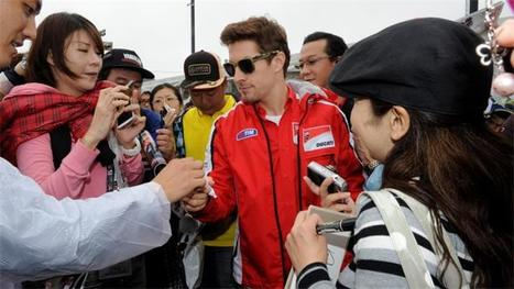 Nicky Hayden Puts Ducati on the Front Row in Japan | Ductalk Ducati News | Scoop.it