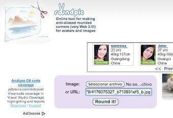 Roundpic redondea las esquinas de tus imágenes online | Educación a Distancia y TIC | Scoop.it