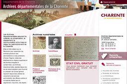 GénéInfos: L'accès à l'état civil de Charente désormais gratuit | Nos Racines | Scoop.it