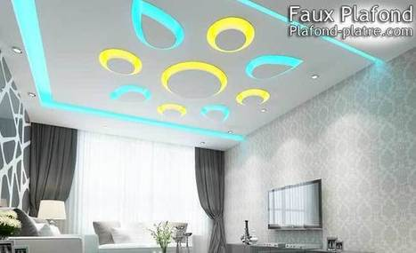 Faux plafond suspendu & tendu design | Faux plafond en forme d'un papillon | Scoop.it