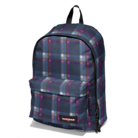 Eastpak Out Of Office Checked Pink Backpack School Bag | Eastpak Out of Office Backpack School Bag | Scoop.it