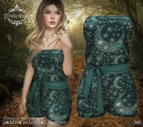 Sabina Celestial Romper June 2016 Group Gift by Petite Mort | Teleport Hub - Second Life Freebies | Second Life Freebies | Scoop.it
