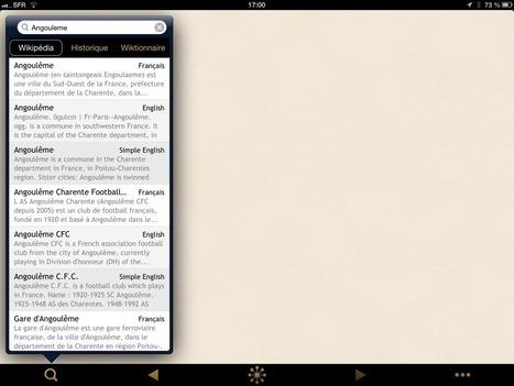 Pépites pour iPad (#003) : Wikilinks, Wikipedia en mieux ! « etourisme.info | eTourisme - Eure | Scoop.it