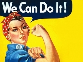 Website 3: Rosie the Riveter - World War II - HISTORY.com | Women on the home front | Scoop.it