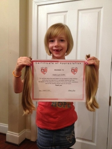 Kallie Griffin donates hair to Locks of Love - Gaston Gazette | Alopecia And Hair Donation | Scoop.it