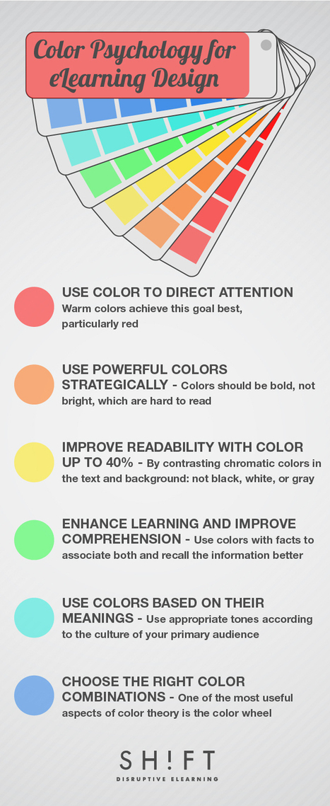 6 Ways Color Psychology Can Be Used to Design Effective eLearning | Pharmacy Education for Clinical Pharmacists | Scoop.it