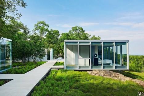Glass Houses with a Clear Sense of Style | Architectural Digest | Designed for Form and Function ....Chairs and Other Objects | Scoop.it