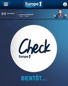 Lagardère Pub lance Europe 1 Check sur smartphones et tablettes | Radioscope | Scoop.it