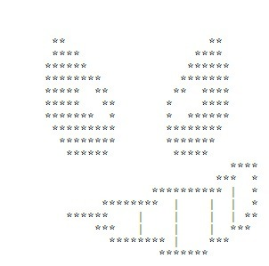 Submitted Art: Evil Grin | ASCII Art | Scoop.it