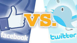 Facebook Vs Twitter : Which is Better and Why | Social Media | Scoop.it
