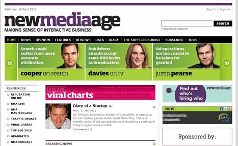 New Media Age NMA | Top sites for journalists | Scoop.it