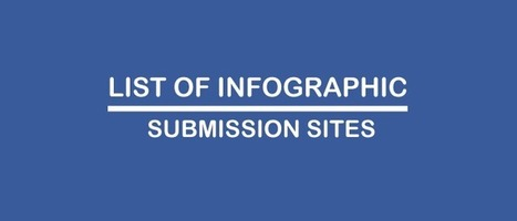 List of high PR infographic submission websites | Business | Scoop.it
