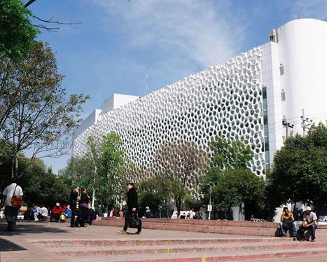 Mexique - Architecture durable : un bâtiment absorbe les gaz d'échappement | High tech & Design | Scoop.it