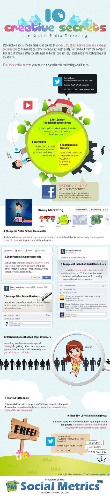 10 Creative Secrets For Social Media Marketing [Infographic] | Marketing Revolution | Scoop.it